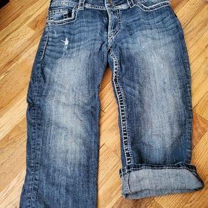 Silver Jean's capris size 31